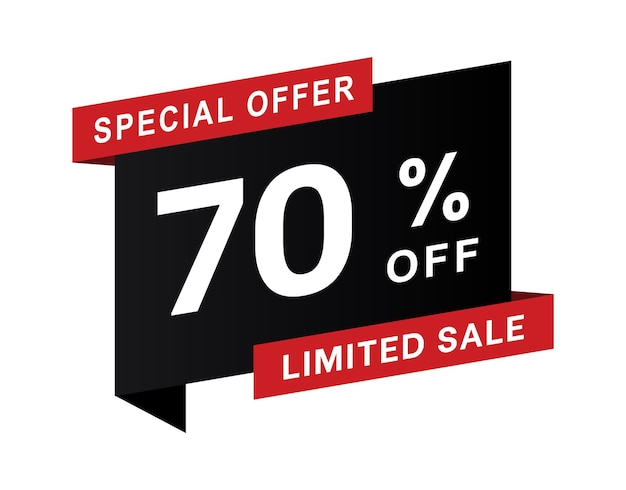 Abstract vector zwarte vrijdag verkoop lay-out achtergrond