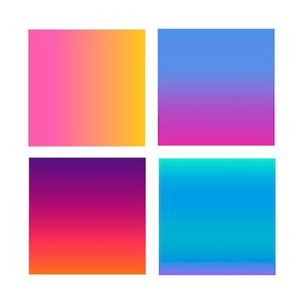 Abstract verloop op het gebied van violet, roze, blauw