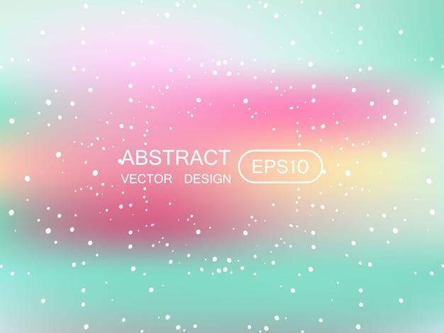 Abstract vervagen veelkleurige achtergrond met sterren