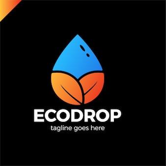 Abstract voor zakelijke eco-aard