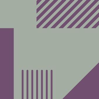 Abstract, vormen, celadon, paarse waas behang achtergrond vectorillustratie