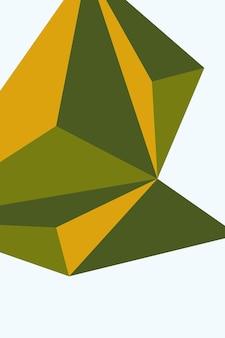 Abstract, vormen geel groen, bos groen, olijf behang achtergrond vectorillustratie.