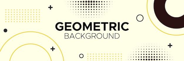 Abstract, vormen, geometrisch patroon, ontwerp, kleurrijk, veelkleurig, geel, donkerbruin, crème gradiëntbehangachtergrond