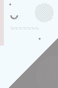 Abstract, vormen kleurrijk, rozenkwarts, grijze kleurovergang wallpaper achtergrond vectorillustratie.