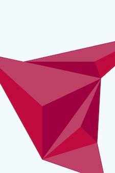 Abstract, vormen roze rood, orchidee, bourgondië behang achtergrond vectorillustratie.