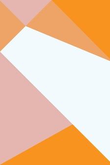 Abstract, vormen rozenwater, perzik, oranje behang achtergrond vectorillustratie.