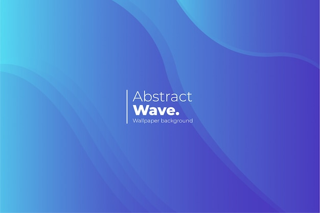 Abstract wave wallpaper achtergrond