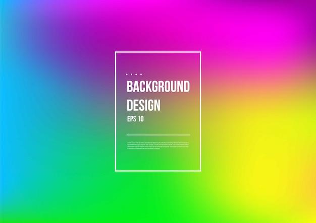 Abstract wazig verloop mesh achtergrond in heldere kleurrijke vloeiend