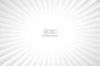 Abstract wit stralenontwerp als achtergrond