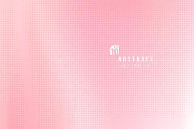 Abstract zacht roze verloop met halftone achtergrond.