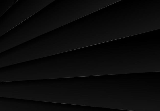 Abstract zwart metalen plaat ontwerp van tech achtergrond.