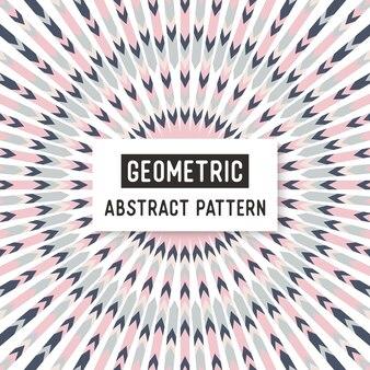 Abstract zwart-wit naadloos patroon.