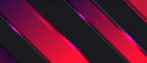 Abstracte 3d realistisch met overlappingslaag van geometrische achtergrond