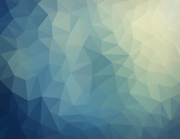 Abstracte aard geometrische driehoekige lage polyachtergrond