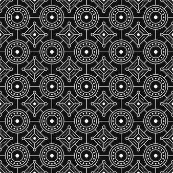 Abstracte achtergrond. batik naadloze patroon behang. stoffen textiel. klassiek motief