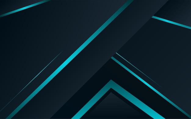 Abstracte achtergrond donkerblauw met moderne bedrijfsconcept vector blauwe minimale achtergrond