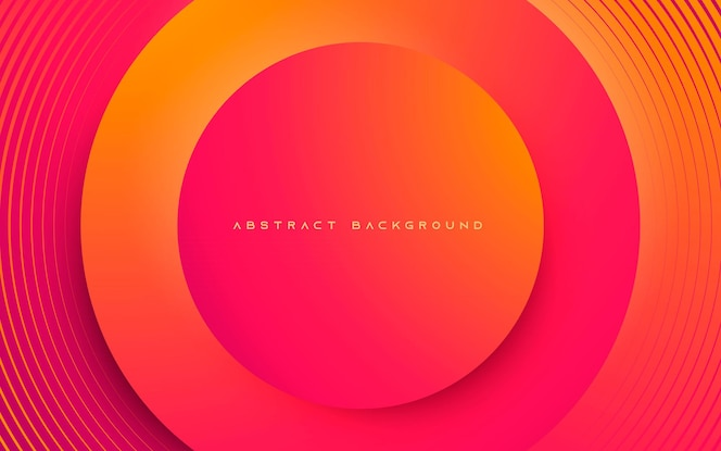 Abstracte achtergrond dynamische cirkellaagvorm
