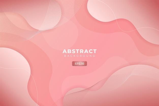 Abstracte achtergrond dynamische vloeistof zachte gradiënt roze pastelkleur