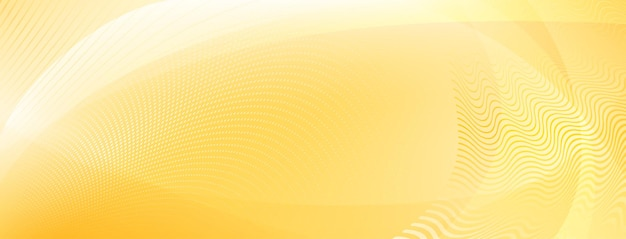 Abstracte achtergrond gemaakt van rondingen en halftoonpunten in gele kleuren
