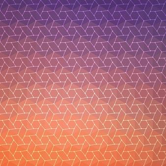 Abstracte achtergrond, geometrisch ontwerp, vectorillustratie. geometrische tesselatie van gekleurd oppervlak. stained glass window style. abstracte kleur vervagen.