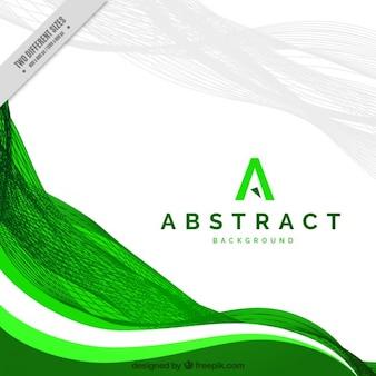 Abstracte achtergrond, groen
