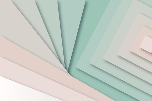 Abstracte achtergrond in papierstijl