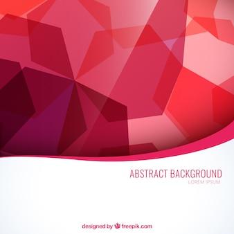 Abstracte achtergrond in rode tinten