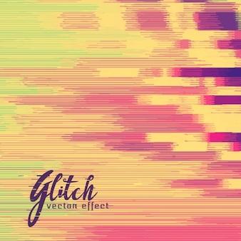 Abstracte achtergrond in warme kleuren, glitch effect