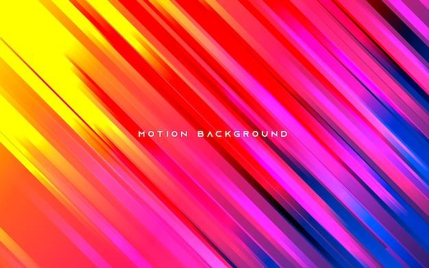 Abstracte achtergrond. kleurrijke diagonale beweging