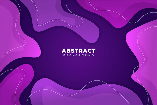 Abstracte achtergrond memphis-stijl vorm zacht verloop paars
