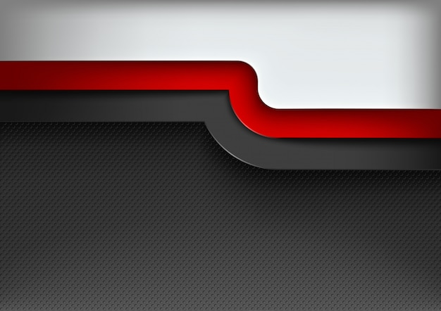 Abstracte achtergrond met 3 gekleurde lagen