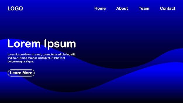 Abstracte achtergrond met blauw kleureffect