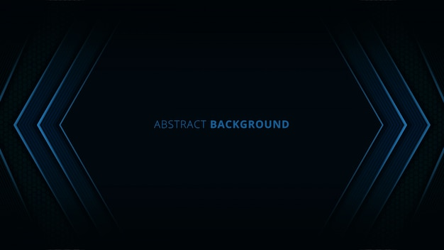 Abstracte achtergrond met blauw licht en koolstofdetail