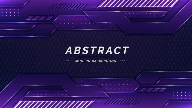 Abstracte achtergrond met blauwe vormen en verlichtingseffect met puntlicht en textuur