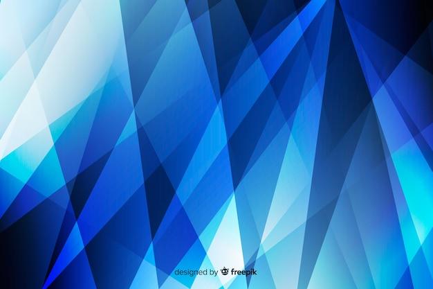 Abstracte achtergrond met blauwe vormen