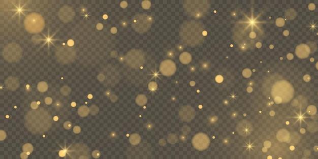 Abstracte achtergrond met bokeh effect. textuur achtergrond abstracte zwart-wit of zilver glitter en elegant. stof wit. sprankelende magische stofdeeltjes. magisch begrip.