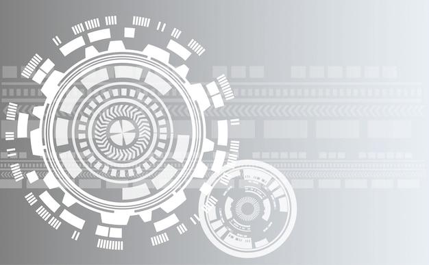 Abstracte achtergrond met cirkel en lijnpatroon