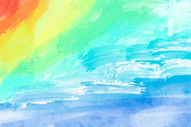 Abstracte achtergrond met de hand geschilderd