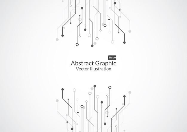Abstracte achtergrond met de raadstextuur van de technologiekring