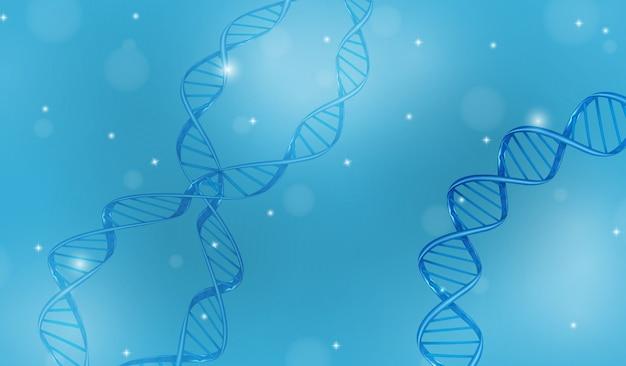 Abstracte achtergrond met dnkspiraal voor informatie en geneeskundemalplaatje. vector illustratie