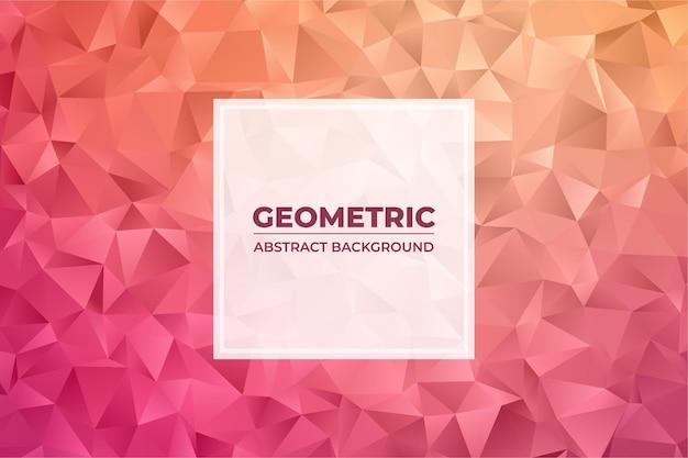 Abstracte achtergrond met driehoek