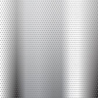 Abstracte achtergrond met een geperforeerde metalen effect