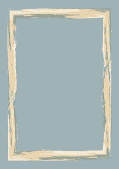 Abstracte achtergrond met een grunge-stijl frame