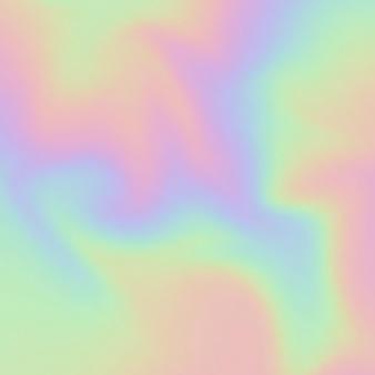 Abstracte achtergrond met een regenboogkleurig hologramontwerp