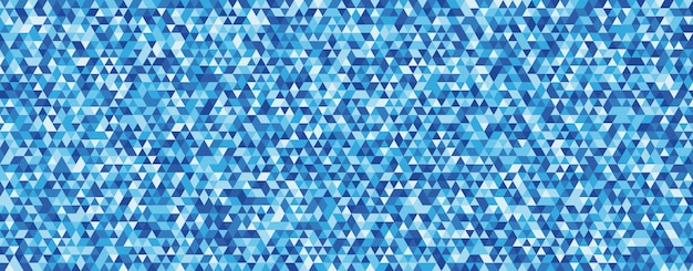 Abstracte achtergrond met eenheid van blauwe driehoeksvorm.