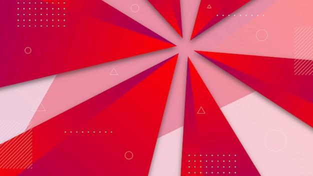 Abstracte achtergrond met gearceerde driehoekselementen.