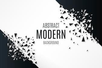 Abstracte achtergrond met gebroken vormen