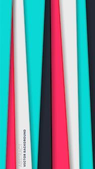 Abstracte achtergrond met gekleurde strepen