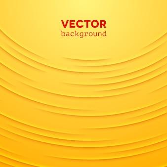 Abstracte achtergrond met gele lagen