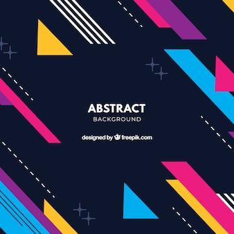 Abstracte achtergrond met geometrisch ontwerp